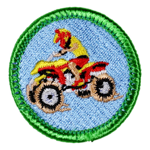 Four Wheeling Merit Badge