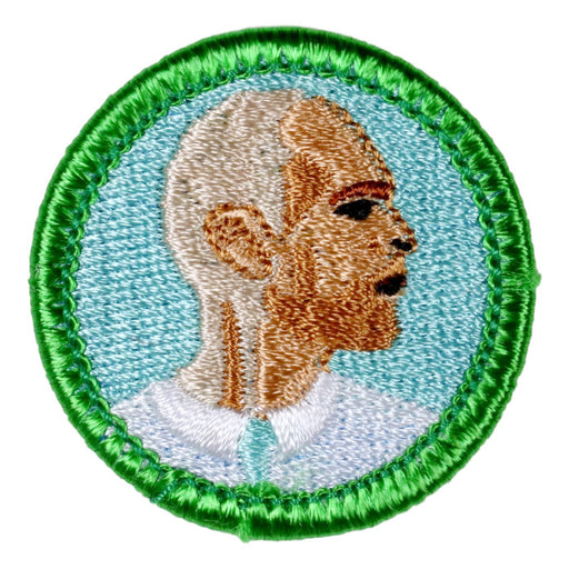 Bald Growing Merit Badge
