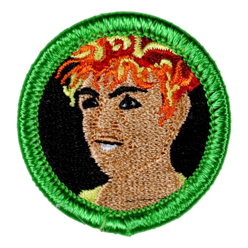 Hair on Fire Merit Badge