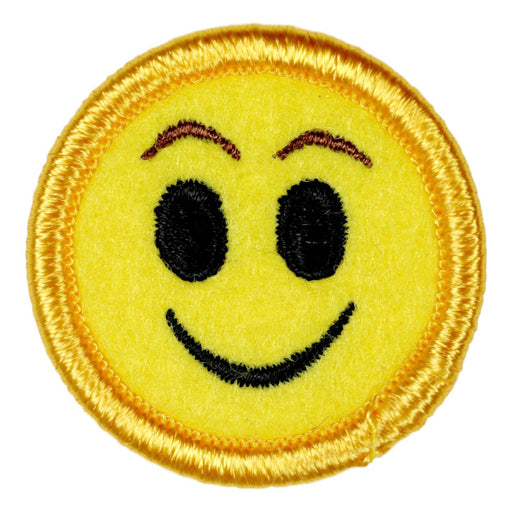 Smiley Face Merit Badge Emoji