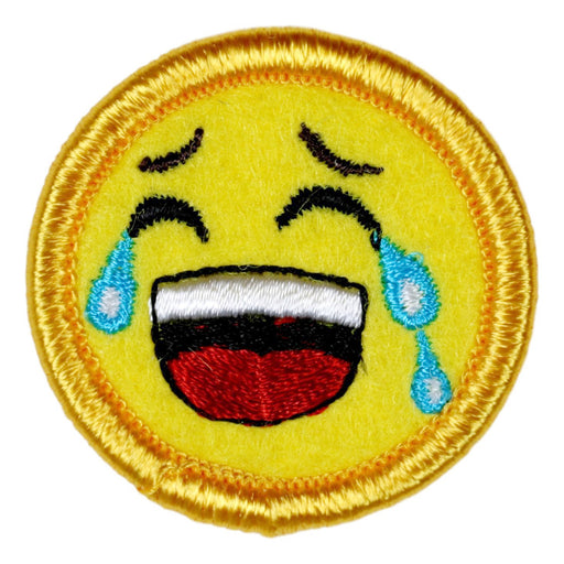 Laughing Out Loud Merit Badge Emoji
