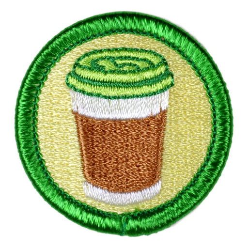 Caffeine Addict Merit Badge