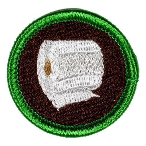 Toilet Paper Merit Badge
