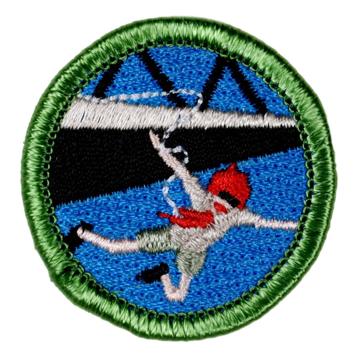 Bungee Jumping Merit Badge