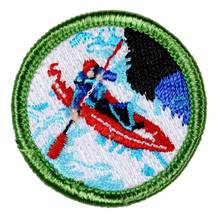 Whitewater Kayaking Merit Badge