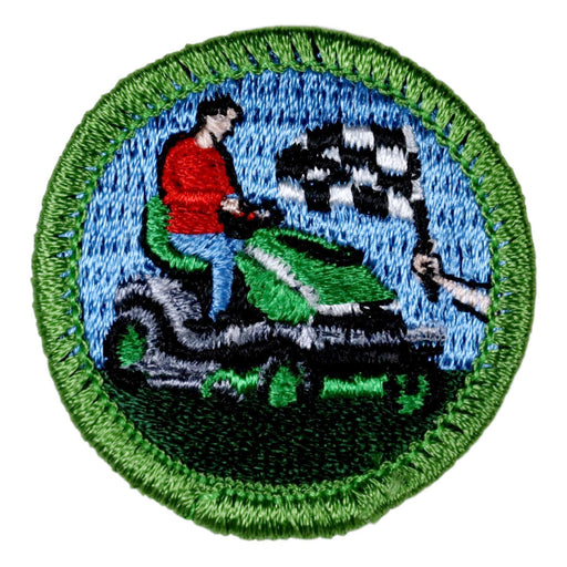 Lawn Mower Racing Merit Badge