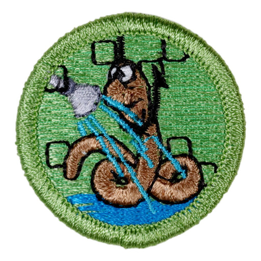 Worm Drowning Merit Badge