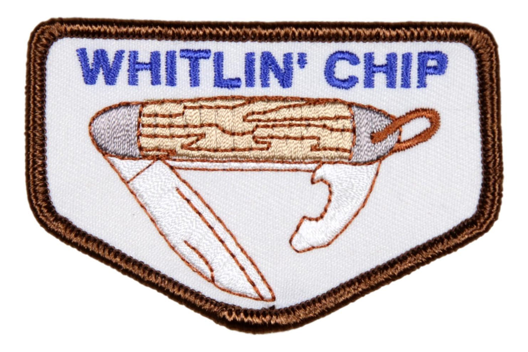 Whitlin' Chip Patch Large 3""