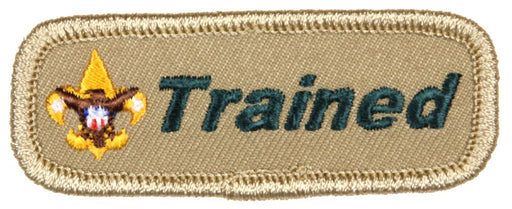 Trained Patch Boy Scout Leader