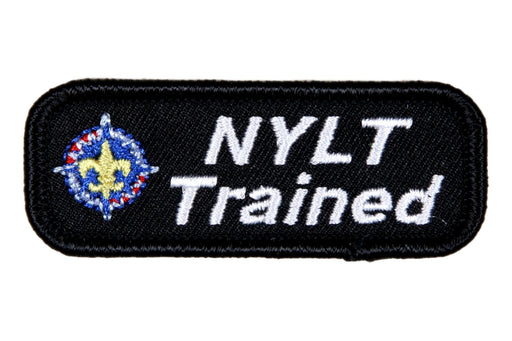 Trained Patch National Youth Leadership Sea Scout