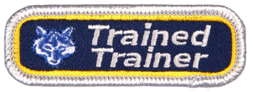 Trained Patch Cub Scout Trained Trainer