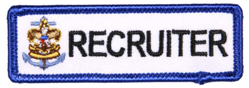 Trained Patch Sea Scout Recruiter