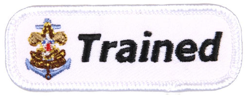 Trained Patch Sea Scout White on White