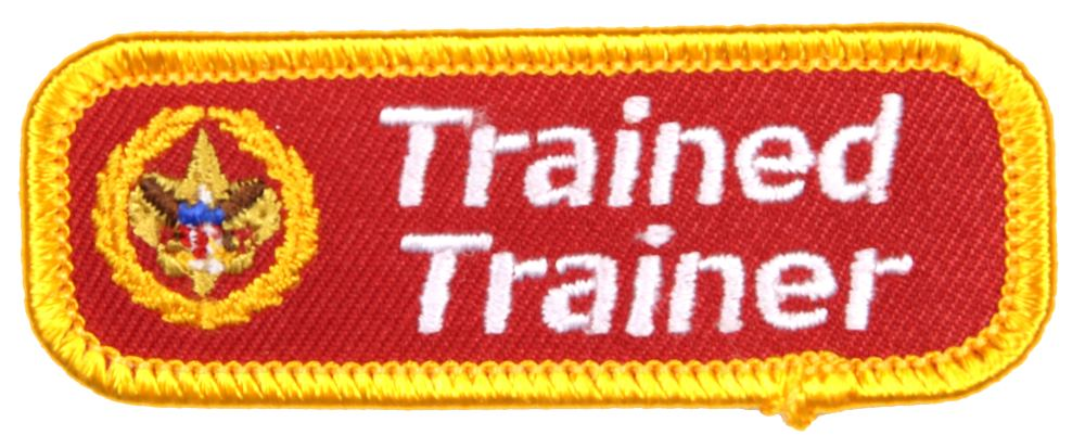 Trained Patch Roundtable Commissioner Trained Trainer