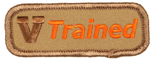 Trained Patch Varsity Scout
