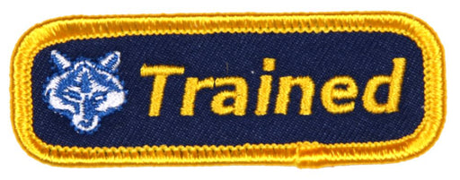Trained Patch Cub Scout Leader