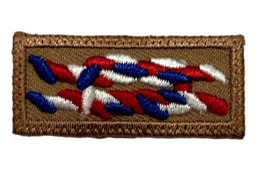 Eagle Scout Knot on Tan