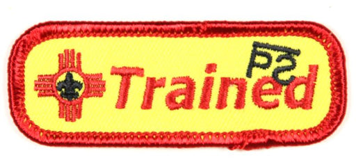 Trained Patch Philmont Training Center