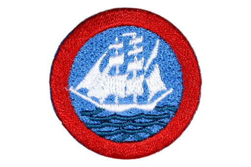 Sea Scout Long Cruise Patch 1 1/2""