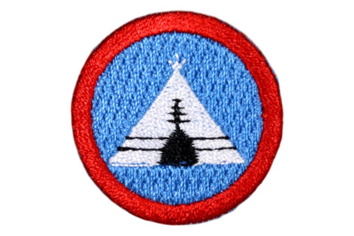 Sea Scout Long Camp Patch 1 1/2""