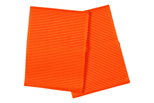 Pair of Orange Shoulder Loops (Varsity Scout Positions)