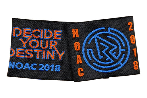 2018 NOAC Shoulder Loops