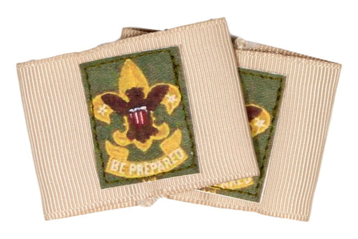 Pair of First Class Rank Shoulder Loops on Tan