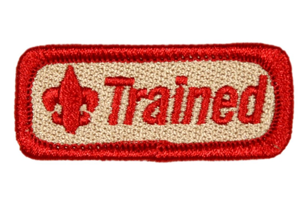 "Trained Patch 2"" Red"
