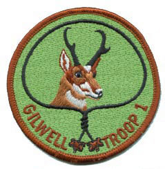 Antelope Gilwell Troop 1 Patch
