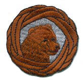 Bear Woggle Patch
