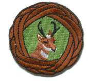 Antelope Woggle Patch