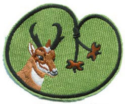 Antelope Oval Bead Patch