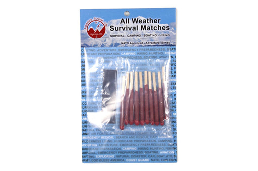 Matches All Weather Survival