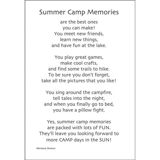 Boy Scout Summer Camp Memories Sticker