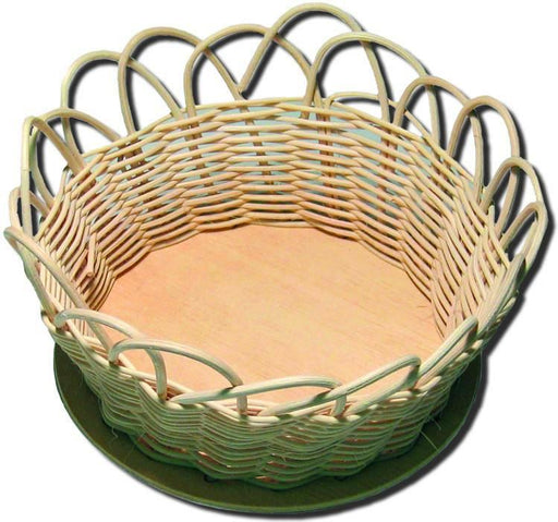 "5"" Round Reed Basket"