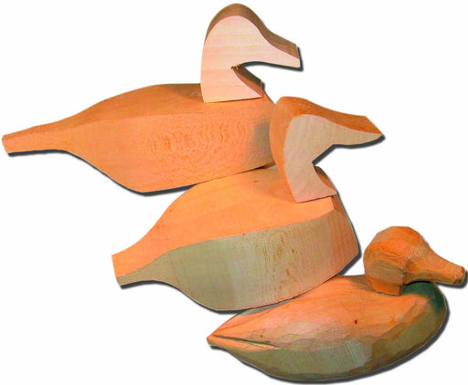 Duck Decoy Wood Carving Project