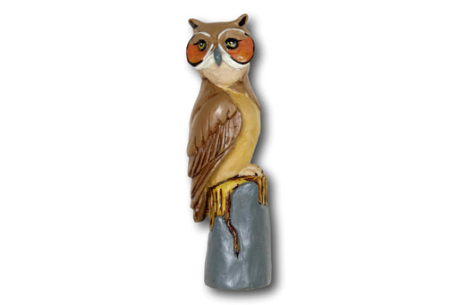 Owl Walking Stick Top