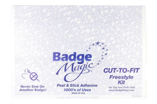 Badge Magic Cut-To-Fit 1/2 Sheet