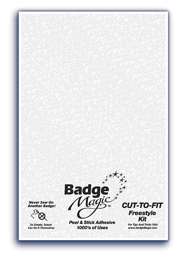 Badge Magic Cut-To-Fit 1/4 Sheet