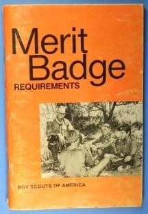 Boy Scout Requirements Book 1979