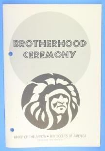 Brotherhood Ceremony Pamphlet 1982