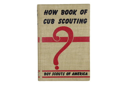 How Book of Cub Scouting 1962