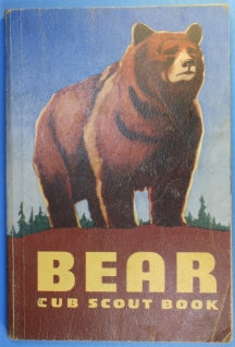 Bear Cub Scout Book 1956