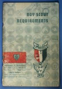 Boy Scout Requirements Book 1960