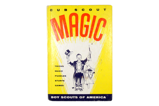 Cub Scout Magic Book