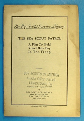 Service Library - The Sea Scout Patrol