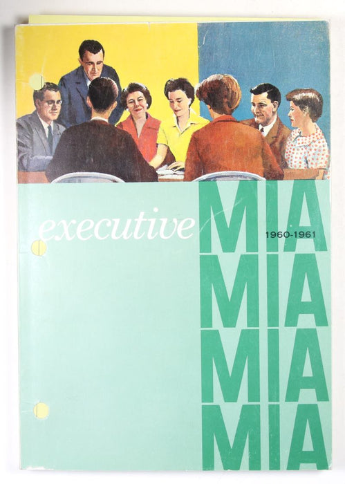 MIA Executive Book 1960-61