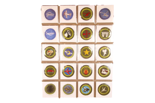 !1950s Merit Badge Collection 114 MBs (SOME MISSING)