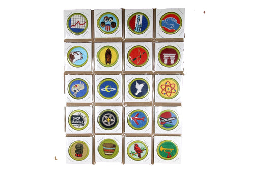 !2002 BSA Scout Stuff Back Merit Badge Collection 133 Badges