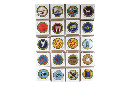 !1960 Cloth Back Back Merit Badge Collection 133 Badges